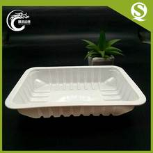China Factory Custom Clear PP Disposable Blister Plastic Eco-friendly Food Packaging Trays For Vegetable