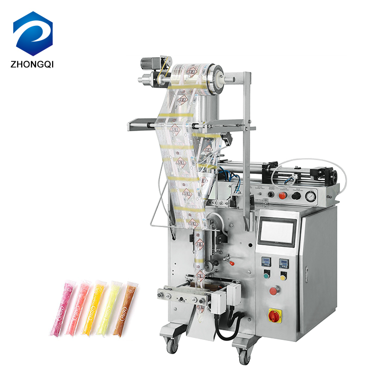 Zhongqi Automatic Ice Candy Packaging Filling And Sealing Machine