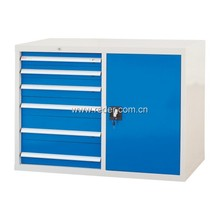 Tool box with 6 drawer and singal door