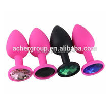 Silicone Anal Plug Toys Butt Plug Massage Anal Sex Toys For Men Woman