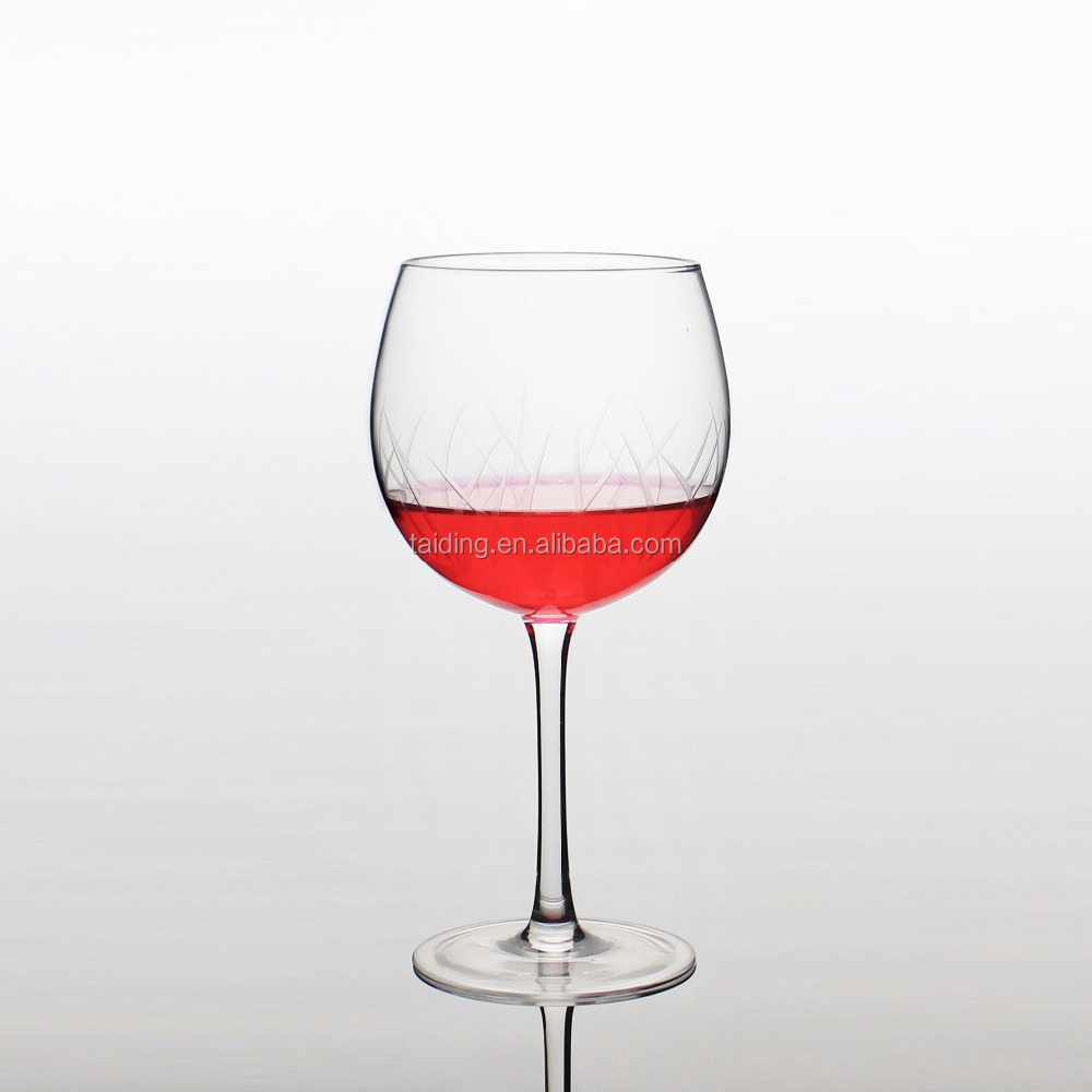 Hand made giant wine glass hot sale wine glass for drinking wine