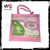 Hot selling non-woven bag with cheapest price, shiny gold metallic non woven bag