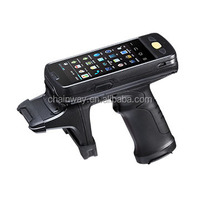 Handheld UHF RFID Reader,Impinj R2000 uhf,3G/WiFi/BT/GPS, Optional Barcode/Fingerprint support