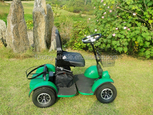 single seat electric golf cart scooter 1 person club car golf buggy