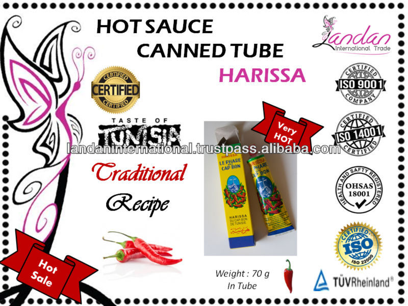 red hot chilli peppers sauce Tunisian harissa