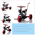 Tricycle for baby with 3 in 1 function light wheel baby tricycle with music and light children tricycle