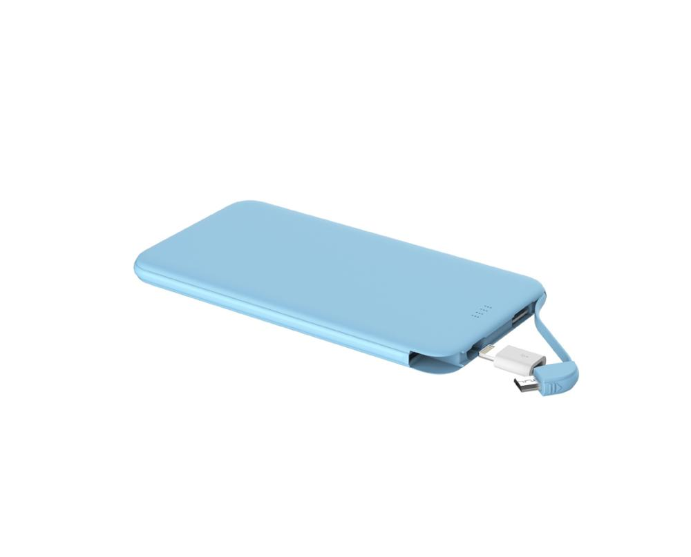 Private label accepted, Slim 5000 mah portable mobile phone power bank, Pink/blue/black/white colors available
