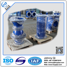 Custom Made DI Pipe Fittings Double Flange Reducer Fusion Bonded Epoxy Coating for Fire Hydrant Systems