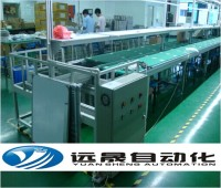 Desktop Computer display device assembly line
