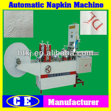 PLC Control Auto Napkin Tissue Paper Folding and Cutting Mahine for Sale,Small Industrial Cheap Price Automatic Napkin Machine