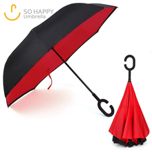 Unique Design Dripless Compact Custom Reverse Umbrella
