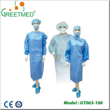Promotional beautiful stylish cool disposable surgical gown sterile