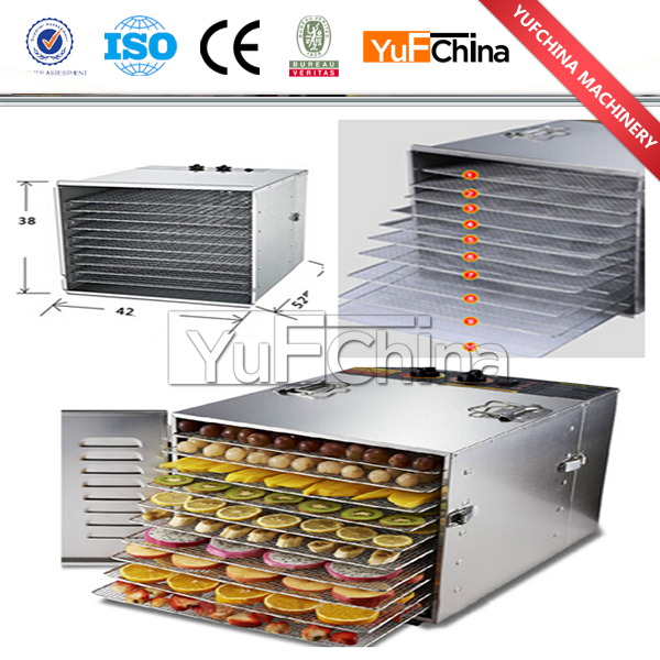 2016 Latest Best Selling Square Food Dehydrator Dry Fruit and Vegetable