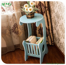 Bedside table table contracted sitting room tea table creative newspaper stand magazine rack