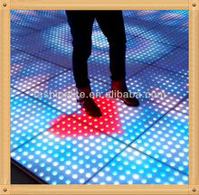 Interactive dance floor LED/LED floor/DJ lights/led dancing floor