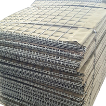 2m*2m military sand wall hesco barriers for sale
