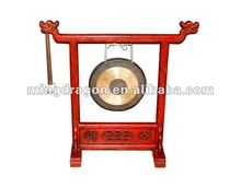 Chinese antique Gong with Carving
