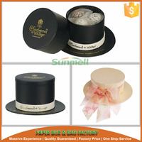 hat shaped truffle and candy storage box