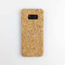 Best price cork wood pc case for mobile phone for Samsung S8, custom pc cases for sale for Samsung S7