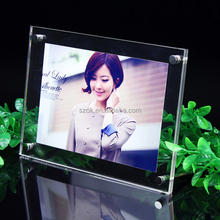 alibaba retail store 4X6 inch acrylic photo frame display stand