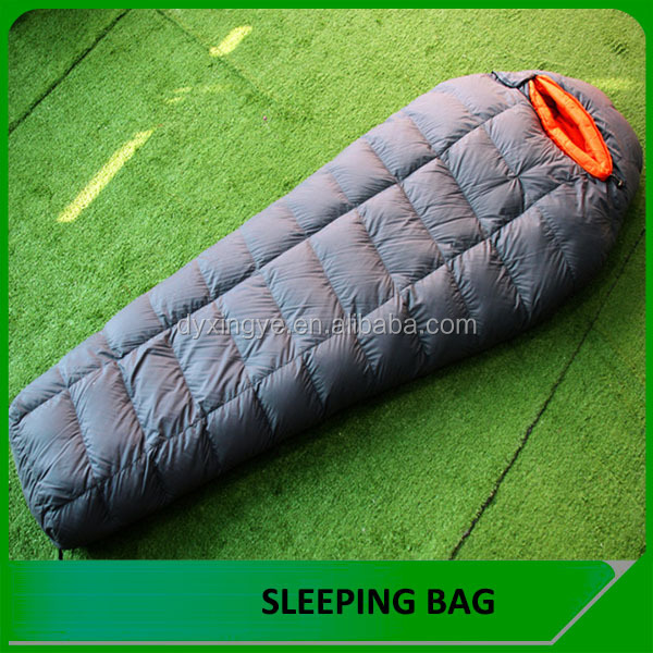 Danyang outdoor mummy ultralight duck down sleeping bag