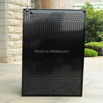 High quality roll bond thermodynamic solar panels,flat plate air solar collector