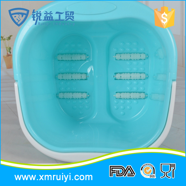 Superior quality delicate children cute plastic foot bath basin