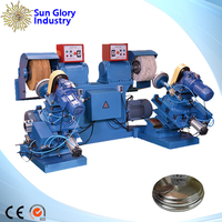 auto stainless steel utensil buffing machine
