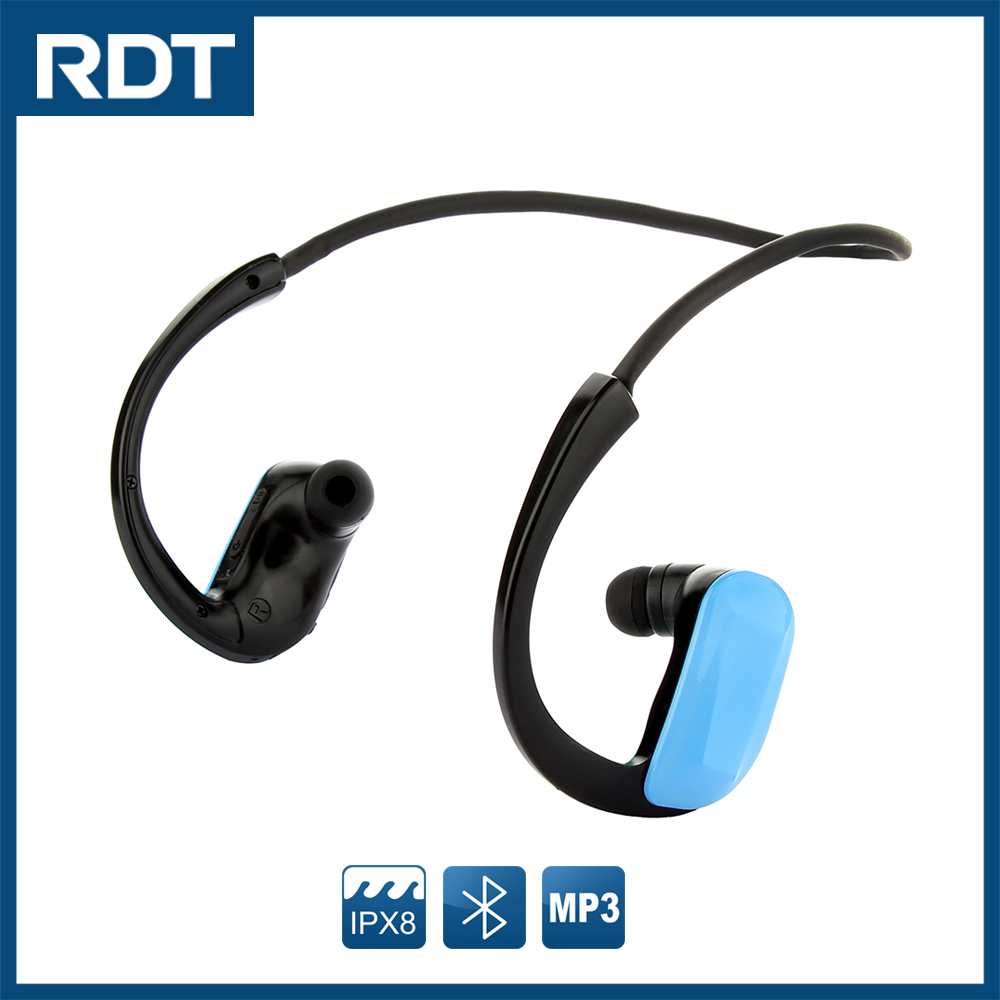 High quality sport wireless waterproof earpiece mp3 player for motorcycle