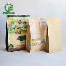 Good quality food grade paper oat packaging bag for granola packing stand up pouch