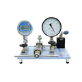 Pneumatic pressure comparison pump
