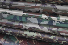 100% polyester 200T pa coated waterproof printed tent taffeta fabric FJ-OU006