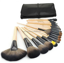 Private Label Acceptable Aoyue 24pcs brush makeup ,facial beauty brush,make up brush sets