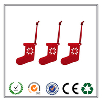 Promotion Die Cut Polyester Felt Christmas Tree Decoration