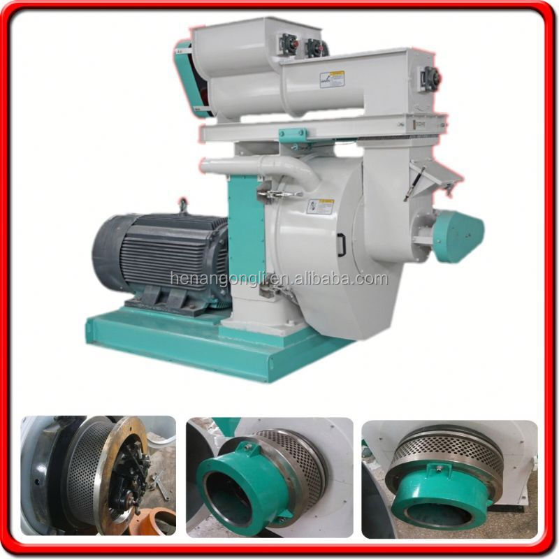 CE Approved Auto Ring Die Used Wood Pellet Machine