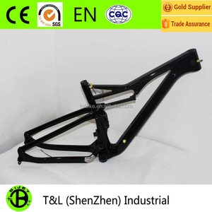 Wholesale MTB bicycle frame 29ER full suspension carbon fiber mountain bike frame