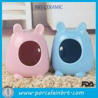 Factory Wholesale Pet Supplies Ceramic Hamster Pet House