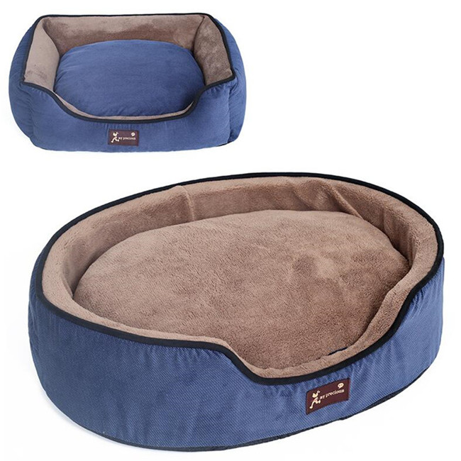 Pet Washable Coral Fleece Couch Dog Bed Wholesale