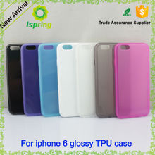 High quality crystal TPU material protective cover case for iPhone