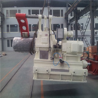 hydraulic copper recoiling reel machine for cut to length line
