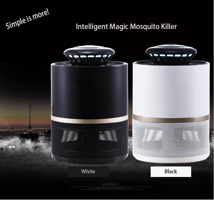 2019 Indoor Electronic USB LED Light Controled Mosquito Killer Equipment