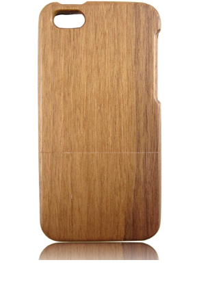 blank wood case for iphone 5C, two parts walnut wood cell phone case,wood blank case
