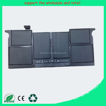 "Grade A Cell 50WH 7.3V A1496 reliable notebook battery replace For Apple MacBook Air 13"" A1466 A1369 020-8142-A MD760LL/A"