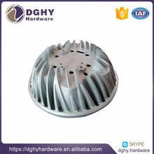 cnc turned aluminum die casting parts with assembly service