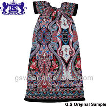 2013 new fashion summer ladies abaya ,polyester ladies abaya #GS122002