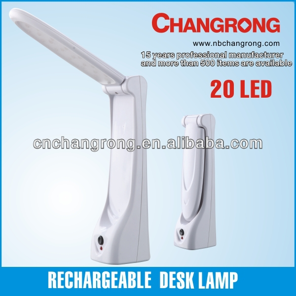 multi-function flexible rechargeable led desk lamp for reading