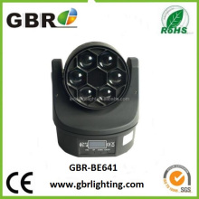2016 Pro Mini Bee Eye 6x15W Zoom Led Moving Head Wash Lighting