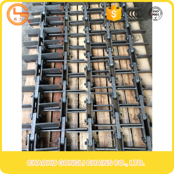 chain manufacturer iron chain hardened steel chain scraper conveyor chain