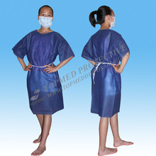 fashionable maternity hospital gowns disposable,soft exam gowns,sms hospital clothes for patient