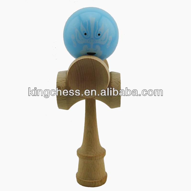 Japanese custom Wooden jumbo Kendama Toys wholesale for Kids K1404105
